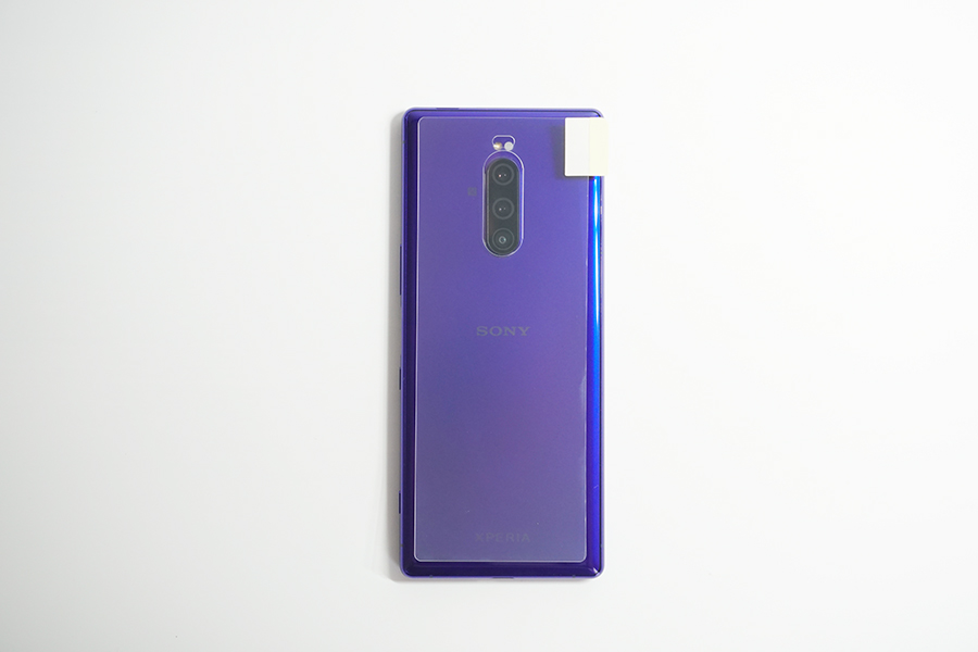 Xperia1用背面保護フィルム