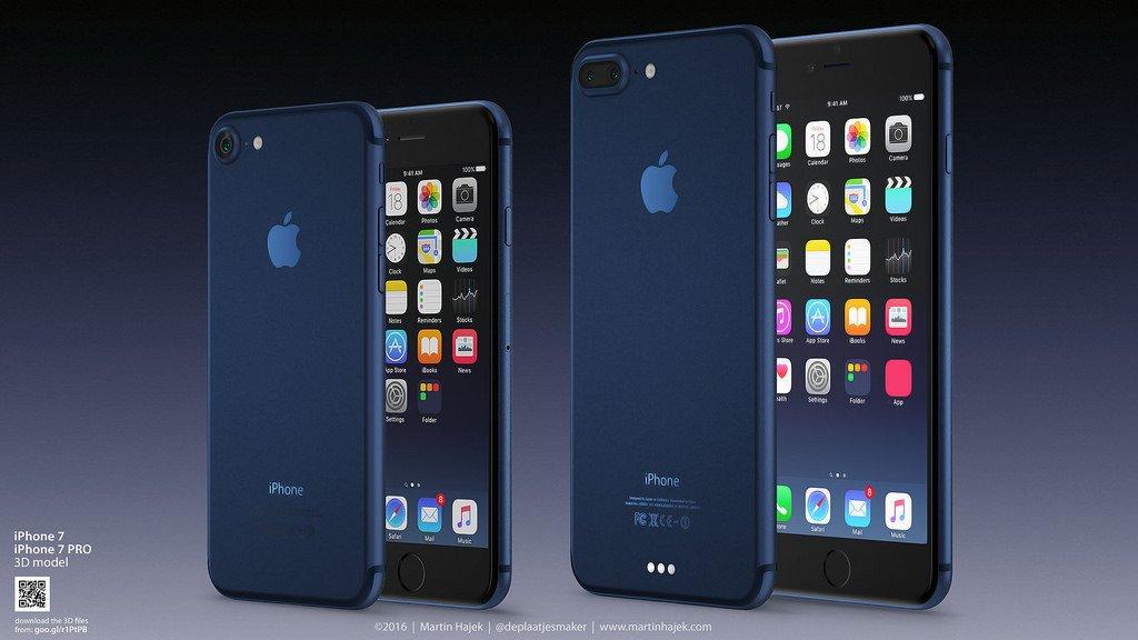 アップル、「iPhone 7」新色ディープブルーのコンセプト画像が公開中!