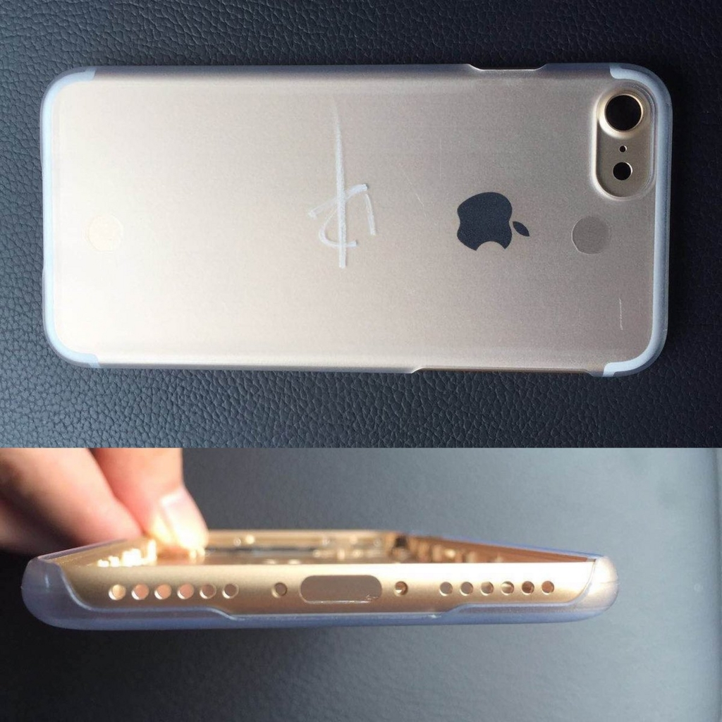 「iPhone7」と思われる金属フレームの画像が公開!iSightカメラが巨大化、イヤホンジャック廃止か
