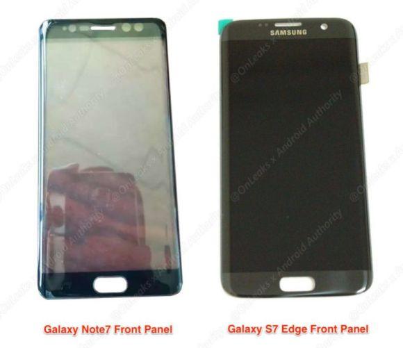 『Galaxy Note 7』虹彩認証センサー搭載が確定か!?フロントカメラは3つ搭載へ