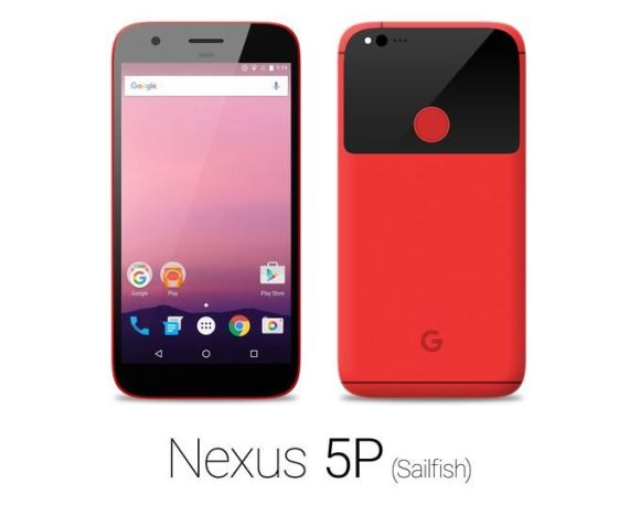 Nexus 5P 『Sailfish』の新たなレンダリング画像が公開中!