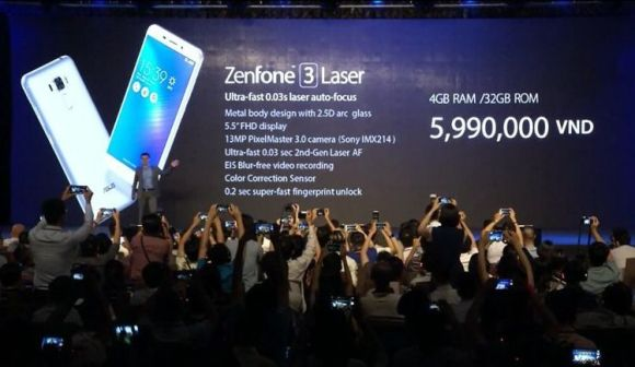 ASUS、「Zenfone 3 Max」&「Zenfone 3 Laser」 を正式発表!両機共大容量バッテリー4100mAh搭載、価格は2万円台か