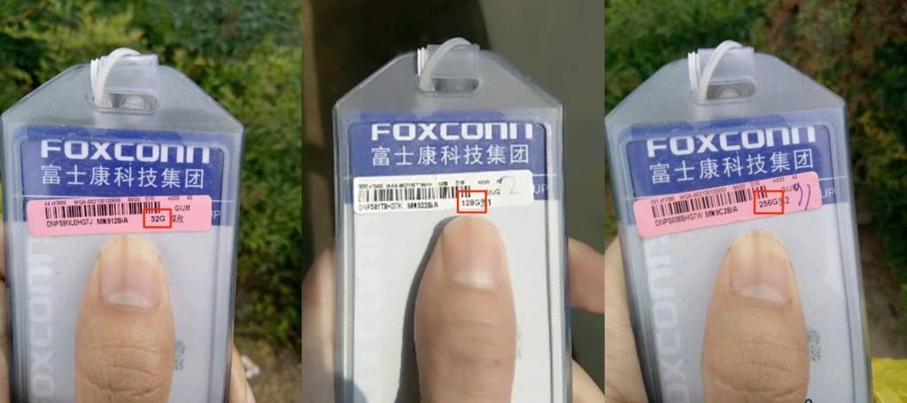 iPhone7、ストレージ容量は「32GB」「128GB」「256GB」で確定か!-Foxconn関係者からリーク