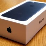 早速、iPhone 7 128GB  MNCK2J/A ブラックを購入開封レビュー!ー磨き上げられた上質な質感は圧巻でした
