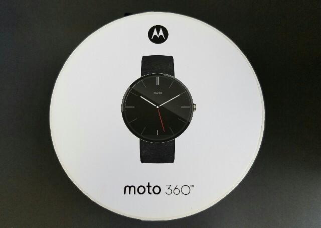 Motorola、「Moto 360 」を購入レビュー!-Android Wearの最高峰、デザインが美しいお洒落なスマートウォッチ