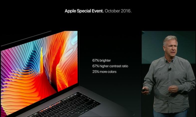 アップル、新型「MacBook Pro 13インチ/15インチ」ーTouch ID搭載の「Touch Bar」、過去最高の薄さと軽さに