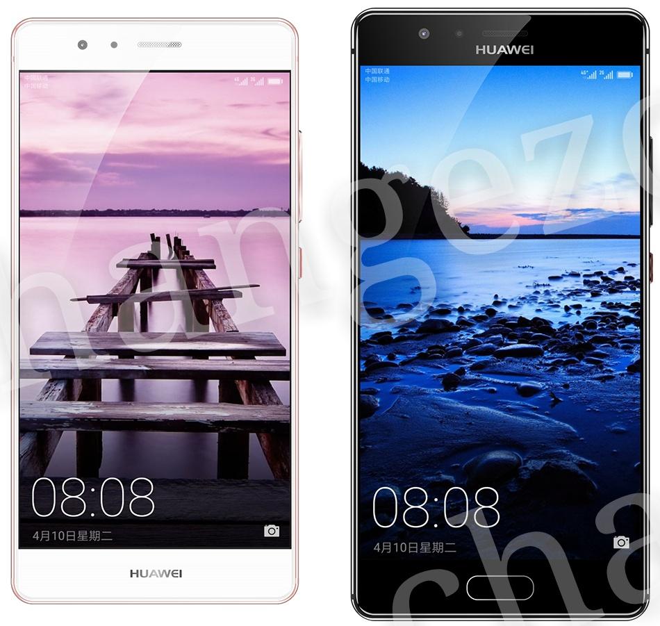 Huawei P10、公式レンダリング画像がリーク?-背面指紋認証廃止、湾曲した2.5Dディスプレイモデルも登場か
