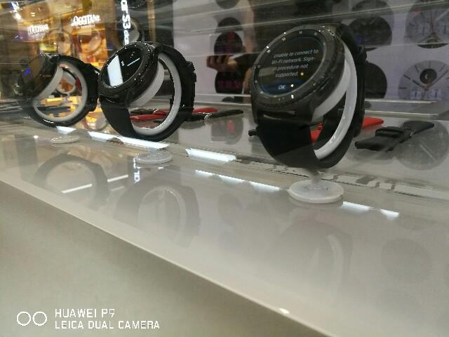 サムスン、新型スマートウォッチ「GearS3」発売開始へ!12月22日より販売スタート