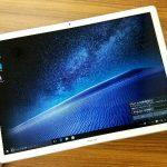 驚きの薄さと軽さ、12インチの大画面「HUAWEI MateBook」開封レビュー!【外観編】