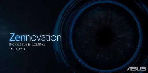 ASUS、ZenFone3 Zoomを来年1月の「Zennovation」にて発表へ?ティザー画像で明らかに