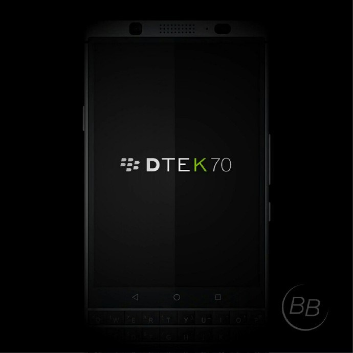新型「BlackBerry DTEK70 (Mercury) 」のレンダリング画像がリーク!4.2インチディスプレイ、Snapdragon 625搭載か