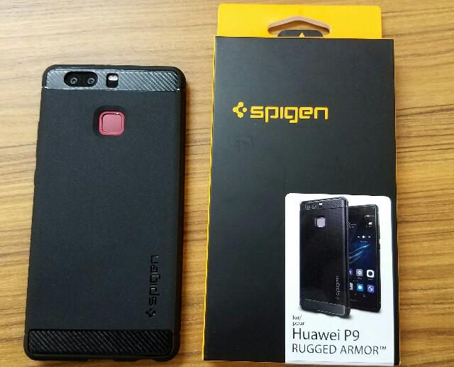 【Spigen ラギッド・アーマー】Huawei P9おすすめケース購入レビュー!落下や衝撃に強くデザインもお洒落で言うことなし