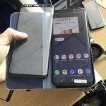 サムスン、au版「Galaxy S8」の実機画像がリークか