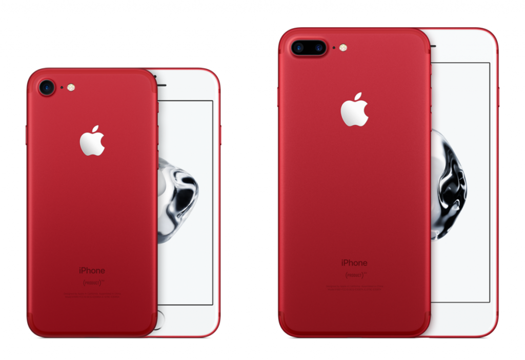 大手3キャリア「iPhone 7 (PRODUCT) RED Special Edition」を3月25日より発売開始へ!