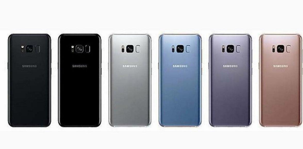 Galaxy S8シリーズのカラーバリエーションが判明、全6色か