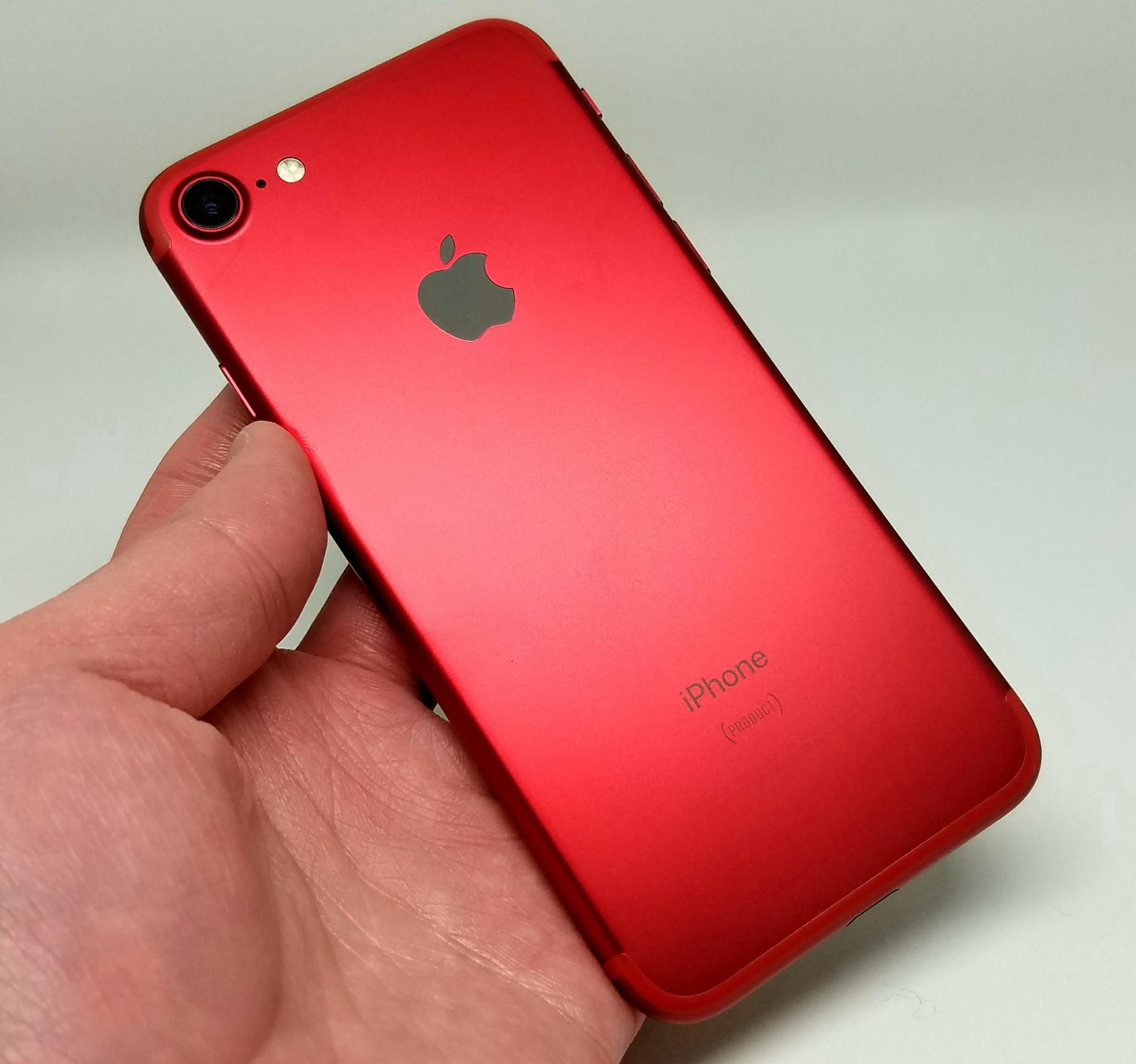 高級感漂う美しい新色「iPhone 7 PRODUCT(RED)」を購入開封レビュー!