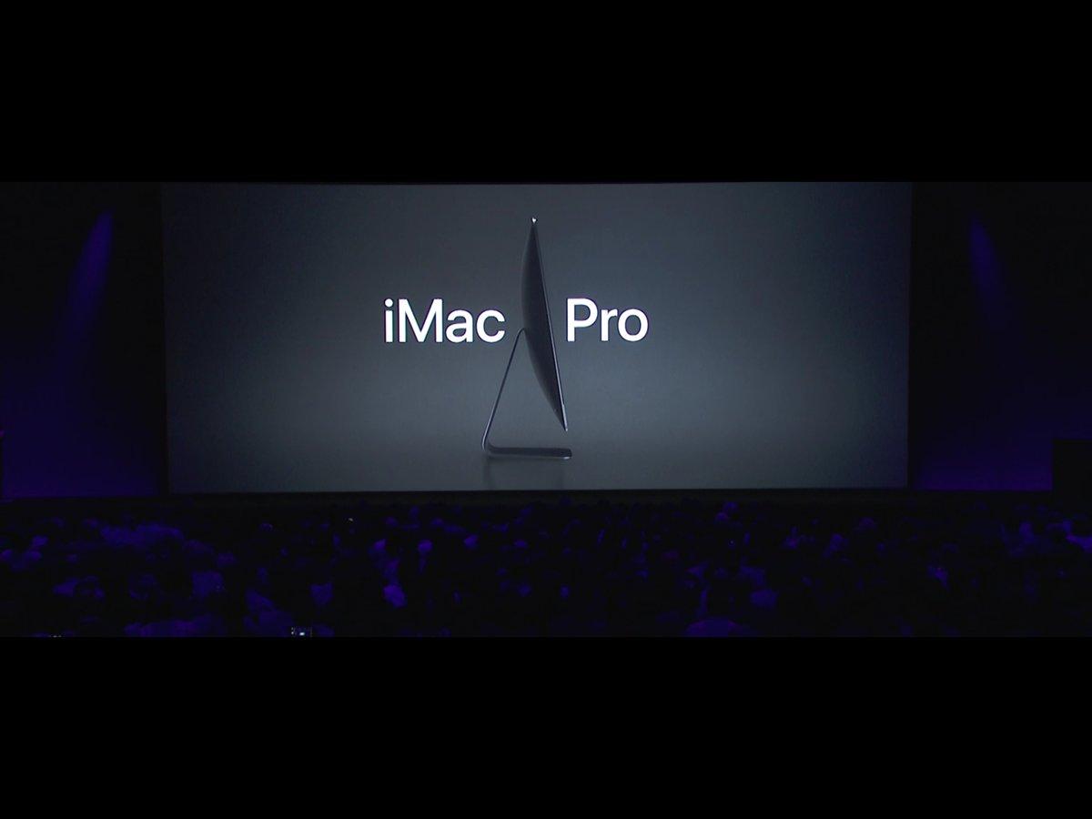アップル、黒い「iMac Pro」を正式発表!リリースは年内予定の模様