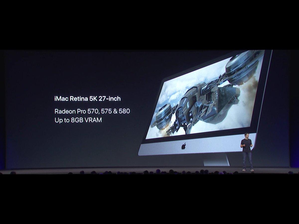 アップル、新型iMacを発表!Kaby Lake、最大RAM64GBに対応、価格は1099ドルから