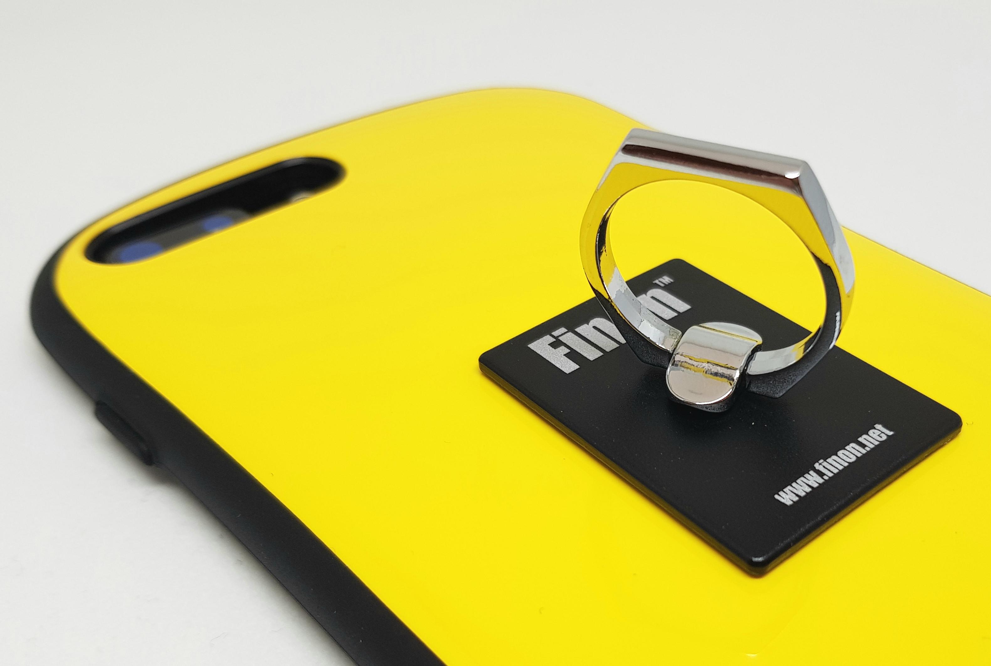 どんな形状でも貼れる「Finon Ring / フィノンリング」強力吸着力で何度でも貼り直し可能なスマホリング!