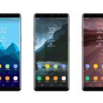 Galaxy Note8の詳細レンダリング画像がリーク?上下のベゼルはGalaxy S8よりも狭くなる