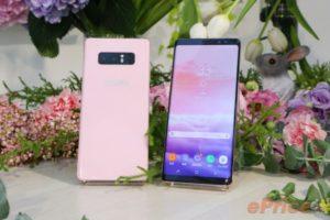 サムスン、台湾にて「Galaxy Note8」新色ピンクを発表!