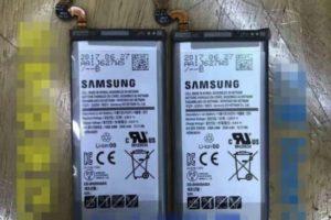 サムスン、新型「Galaxy Note8」に搭載されるバッテリー画像!?噂通り3,300mAhで確定か