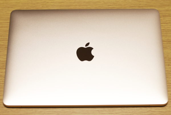 MacBook本体は美しい