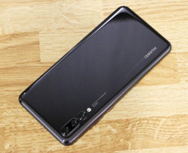 Huawei P20 Proの背面