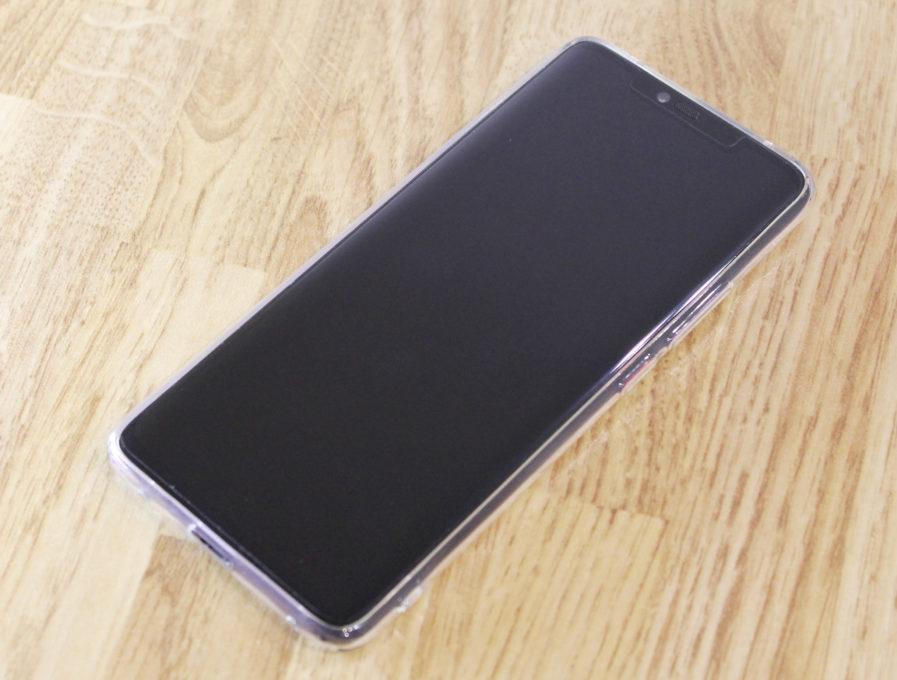 液晶保護フィルムを貼ると画面内指紋認証の精度が下がる問題