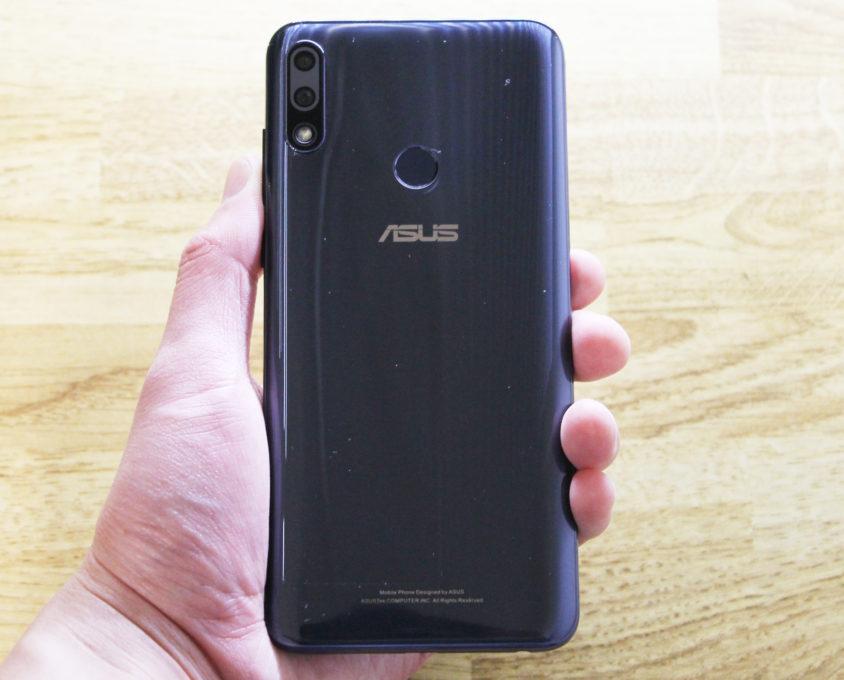 ASUS ZenFone Max Pro (M2)背面