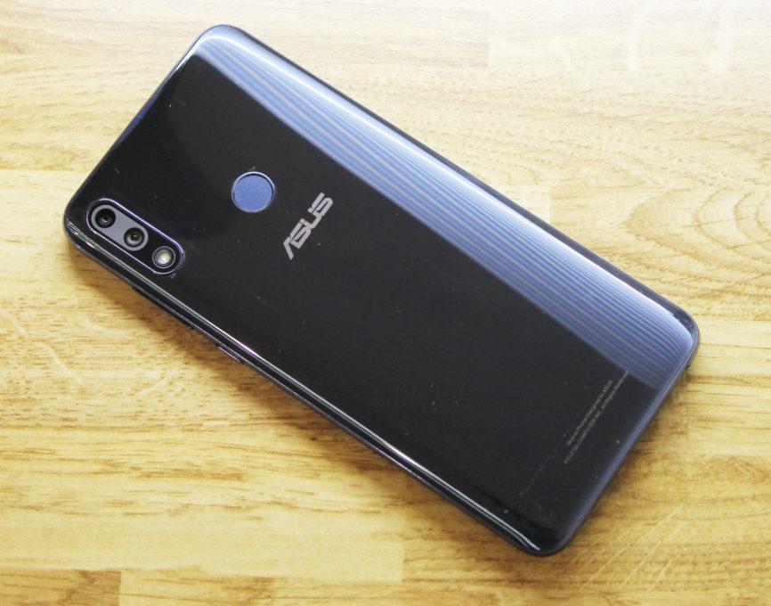 ASUS ZenFone Max Pro (M2)外観レビュー画像