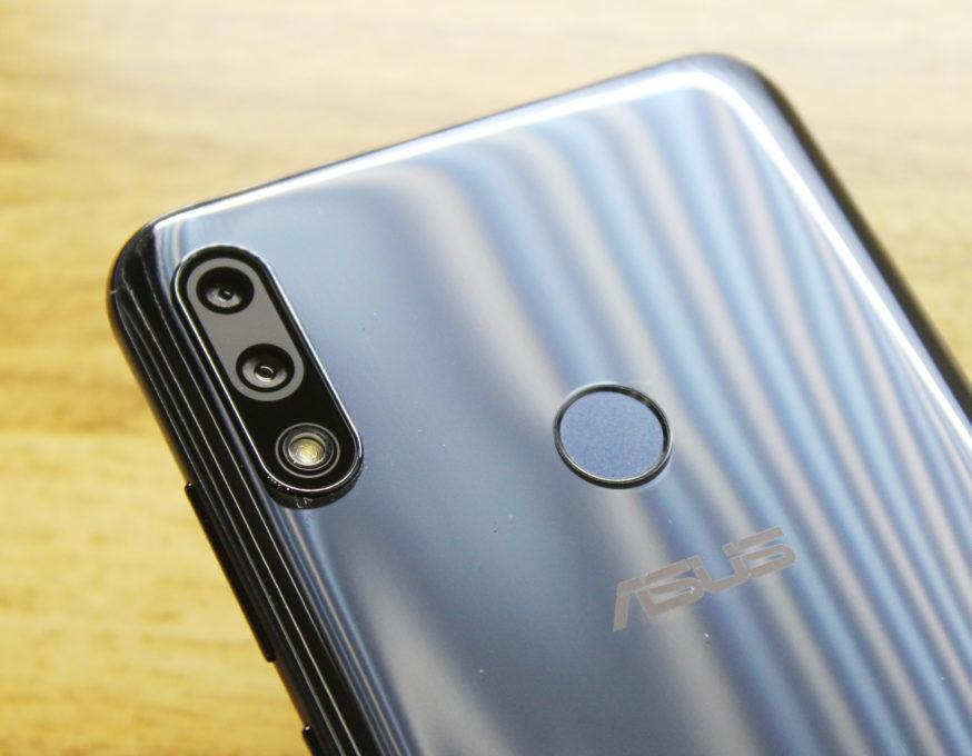 ASUS ZenFone Max Pro (M2)指紋認証