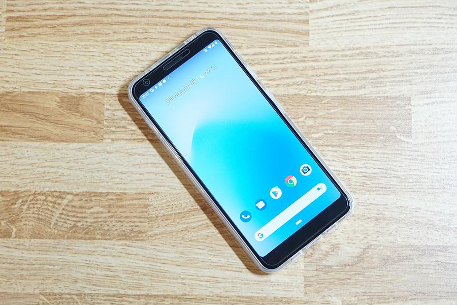 LASTEのGoogle Pixel 3a XL用ケース装着時前面