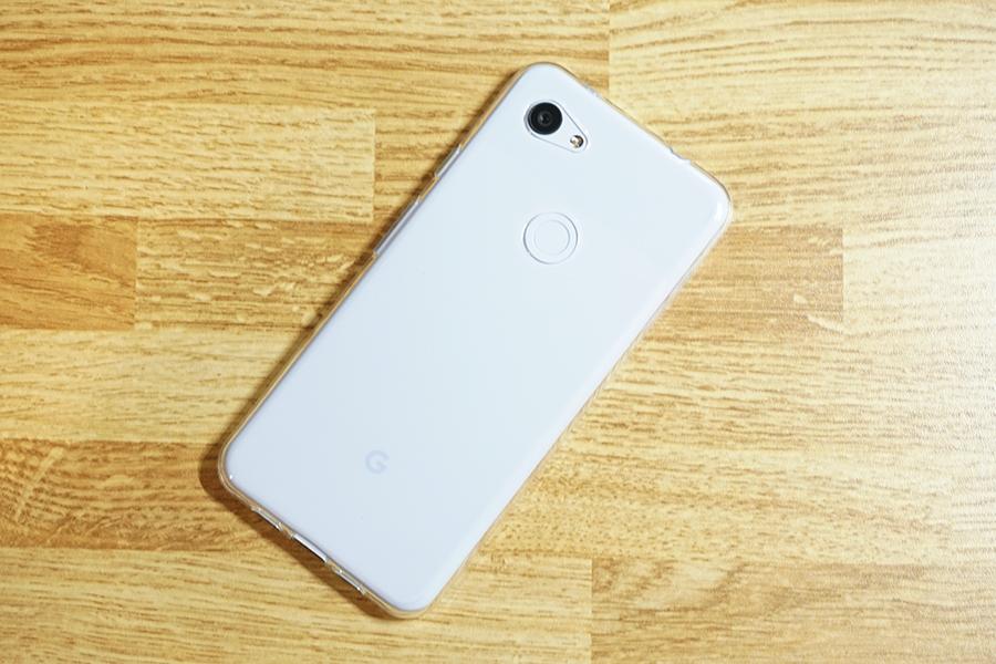 LASTEのGoogle Pixel 3a XL用ケースを装着してみた写真