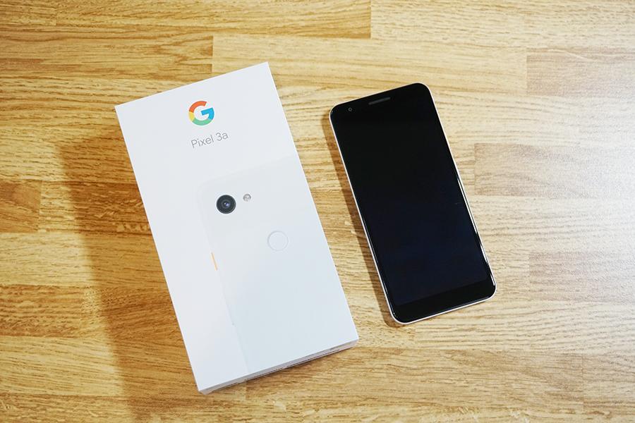 Google Pixel 3aの画像