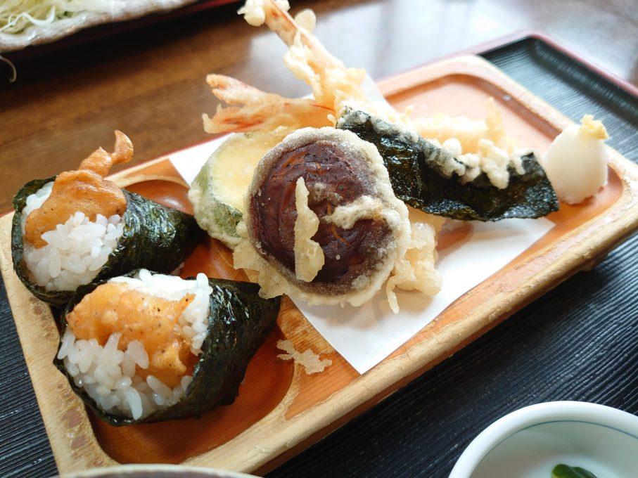 Xperia1で撮影した天ぷら料理