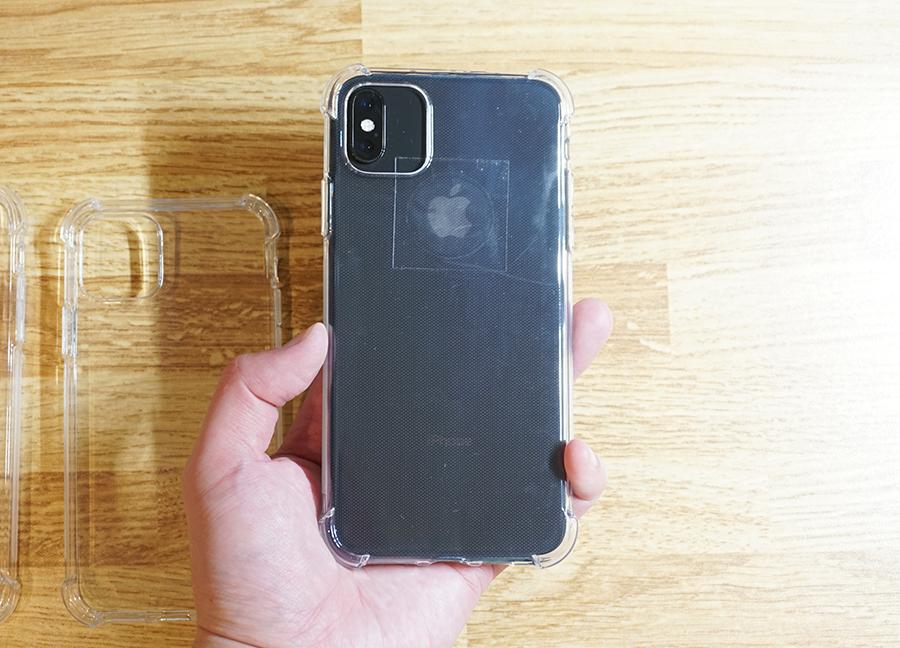iPhone XS Maxに新型iPhoneケースを付けてみた