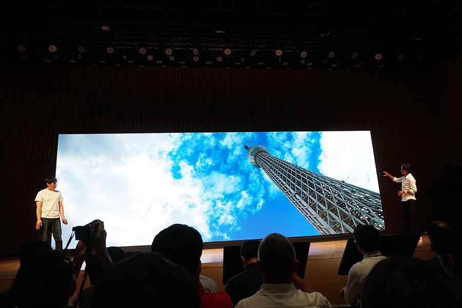 ZenFone 6のフリップカメラで撮影した風景写真