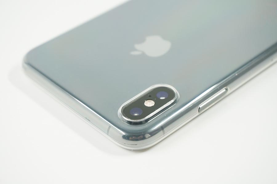 iPhone XS Maxのカメラ部分を保護出来る