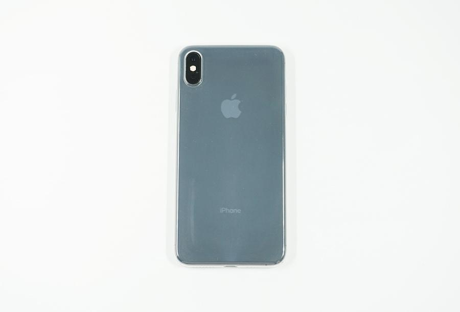 KASE Go Original iPhone XS Max用極薄スリムケース背面
