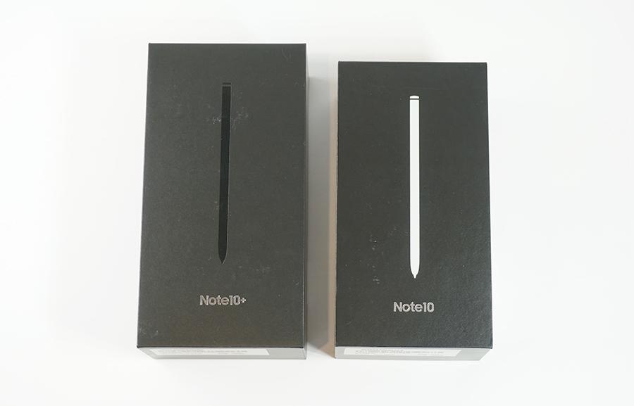 Galaxy Note10/10+のパッケージ