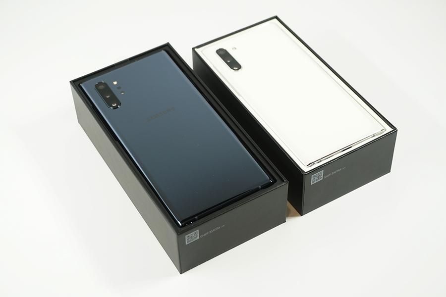 Galaxy Note10/10+を開封