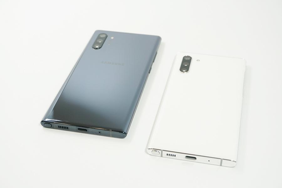 Galaxy Note10/10+のデザイン