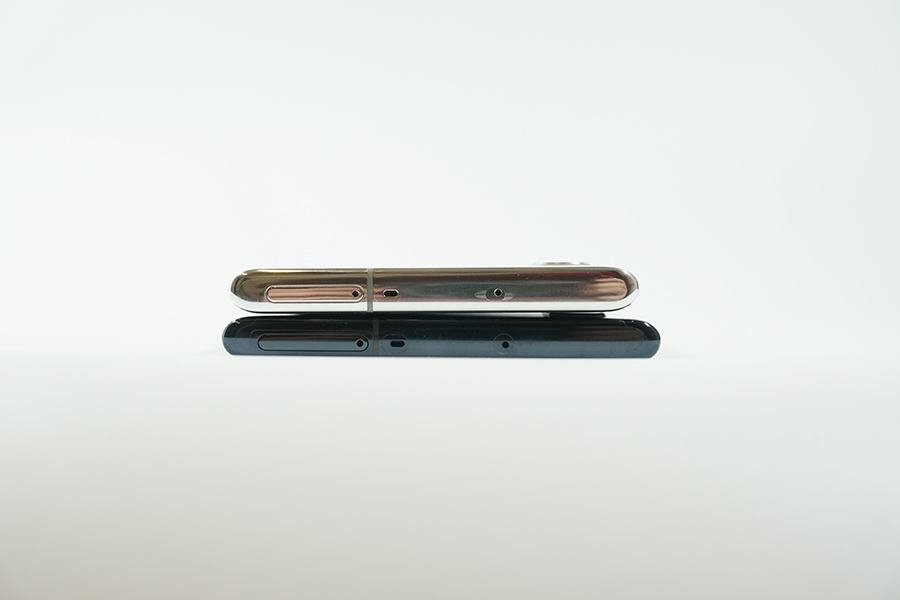 Galaxy Note10/10+側面上部