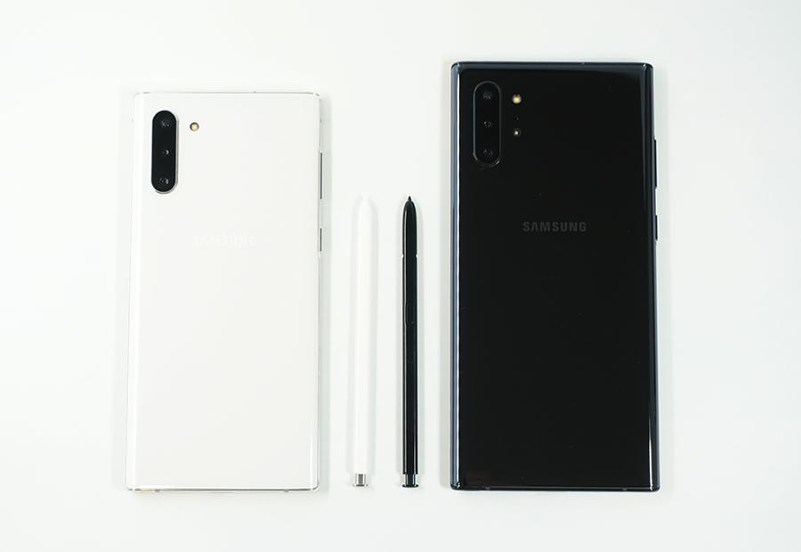 Galaxy Note10/10+のSペンはサイズが同じ