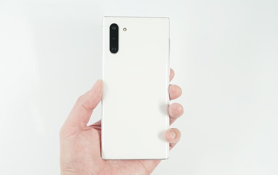 Galaxy Note10を持っている裏側