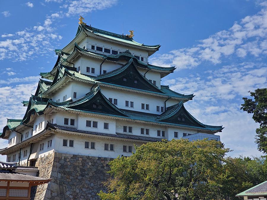 Galaxy Note10の望遠で撮影した名古屋城