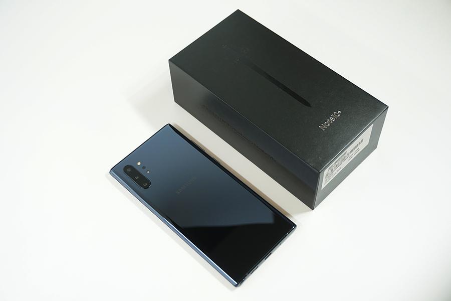 Galaxy Note10+の外観・デザインをチェックする