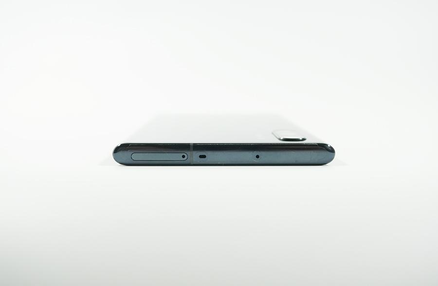 Galaxy Note10+の側面上部