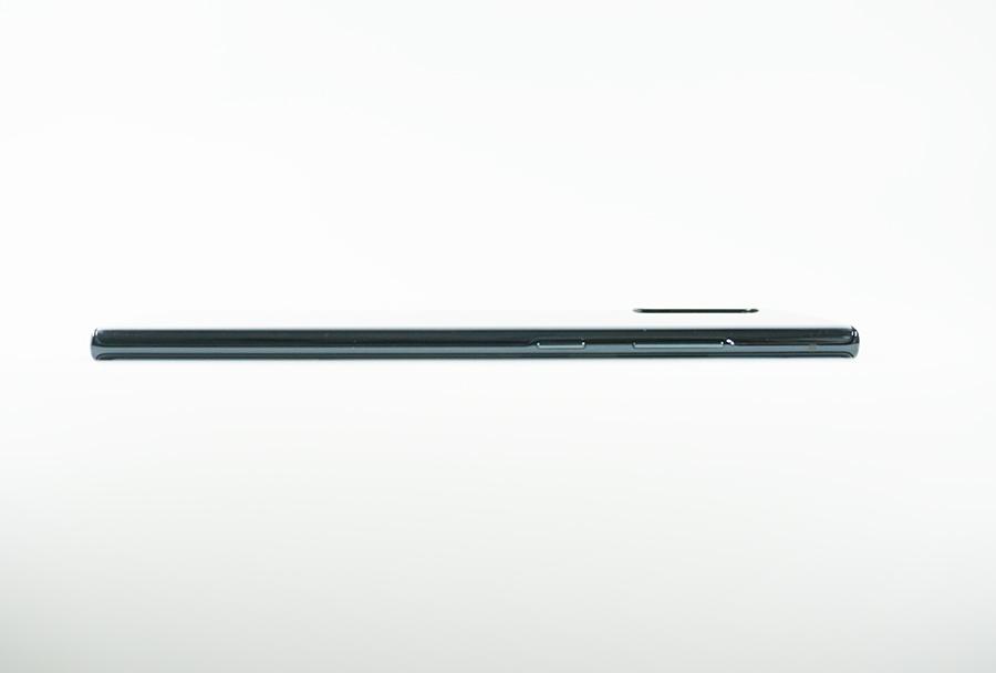 Galaxy Note10+の側面左側